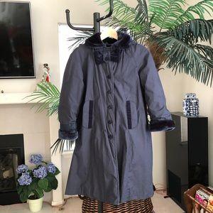 Cute Navy BlueRothschild fall/winter coat for girl